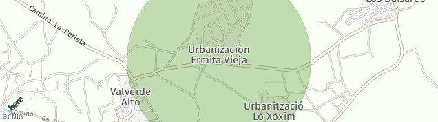 Mapa Nova Vallverda