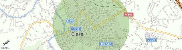Mapa Cieza