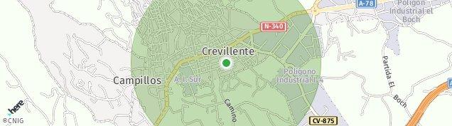 Mapa Crevillent