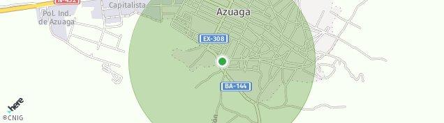 Mapa Azuaga