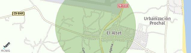 Mapa El Altet