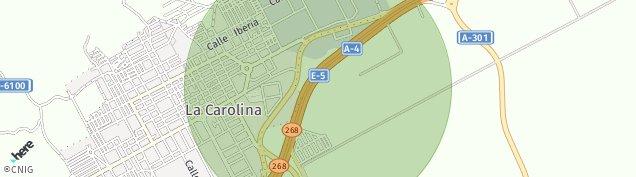 Mapa La Carolina