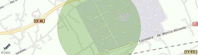 Mapa Partida Jubalcoi