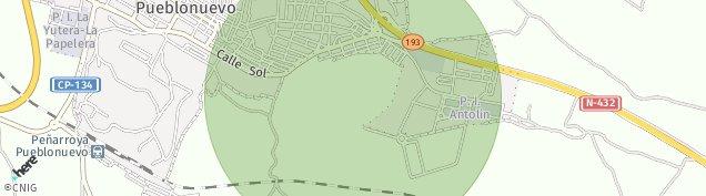 Mapa Peñarroya-Pueblonuevo