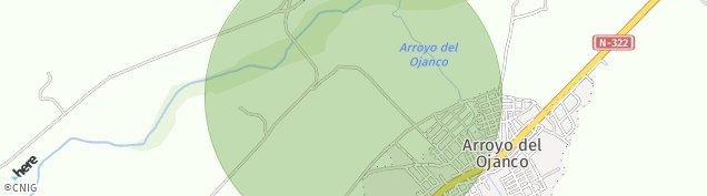 Mapa Arroyo del Ojanco