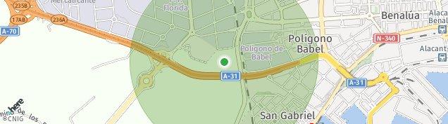 Mapa Alicante