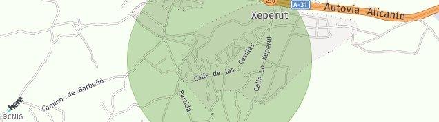 Mapa El Rebolledo