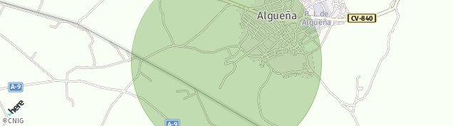 Mapa Algueña