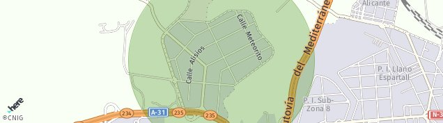 Mapa Bacarot