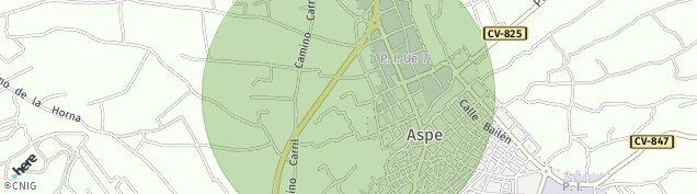 Mapa Aspe