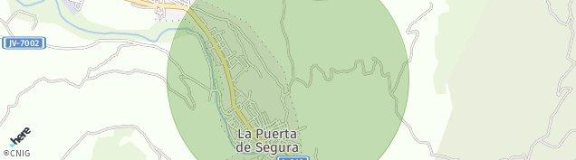 Mapa La Puerta de Segura