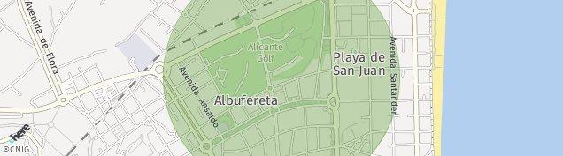 Mapa Playa de Sant Joan