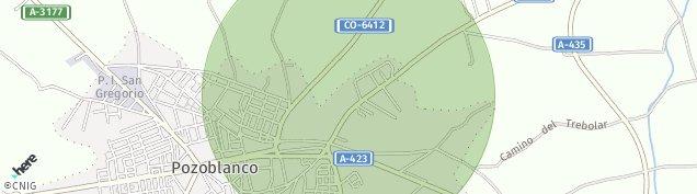 Mapa Pozoblanco