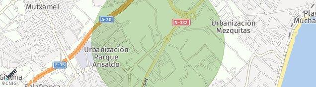 Mapa Huertas
