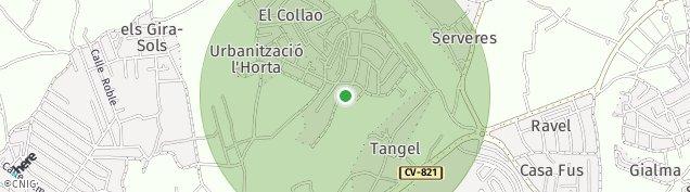 Mapa Tangel