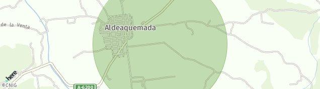 Mapa Aldeaquemada