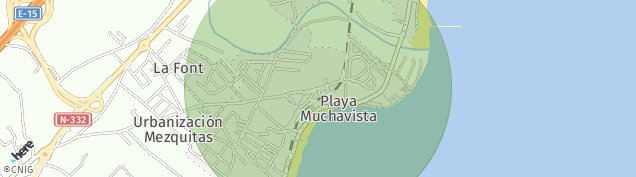 Mapa Playa Muchavista