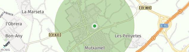 Mapa Mutxamel