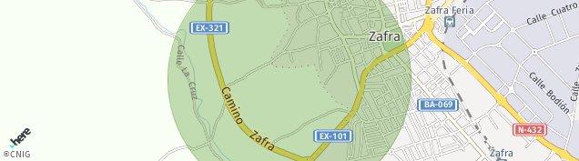 Mapa Zafra