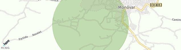 Mapa Monóvar