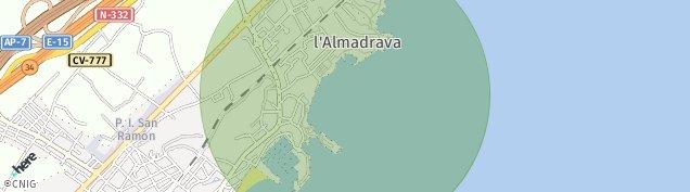 Mapa El Campello