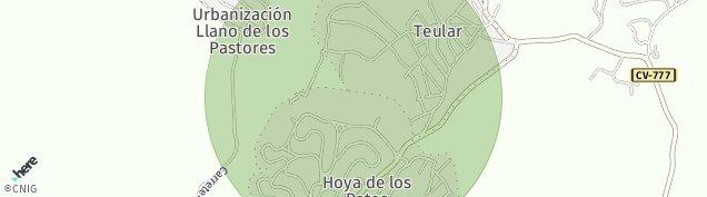 Mapa Hoya de Los Patos