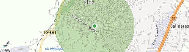 Mapa Elda