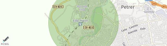 Mapa El Monastil
