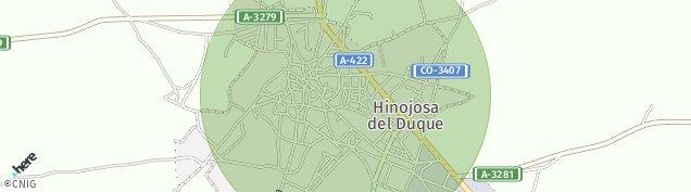 Mapa Hinojosa del Duque