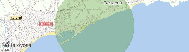 Mapa Villajoyosa