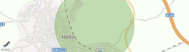 Mapa Hellín