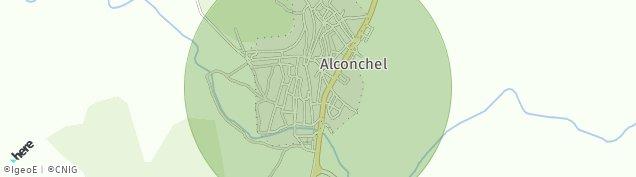 Mapa Alconchel
