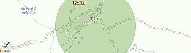 Mapa Tibi