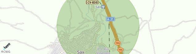 Mapa Sax