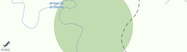Mapa Dehesa de Las Alcantarillas