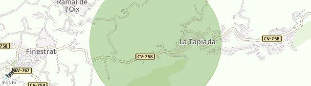 Mapa Finestrat