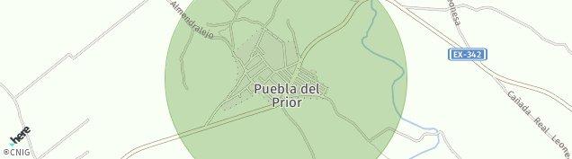 Mapa Puebla del Prior