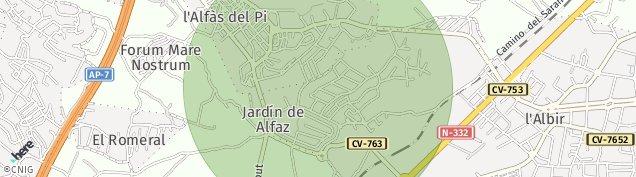 Mapa Urbanizacion Santa Fe