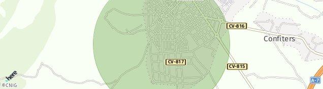 Mapa Castalla