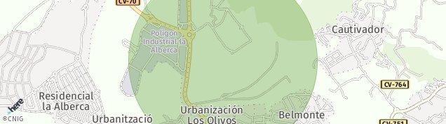 Mapa La Nucia