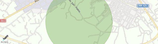 Mapa Yecla