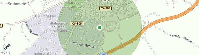 Mapa Ibi