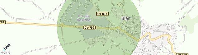 Mapa Biar