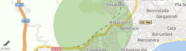 Mapa Canuta