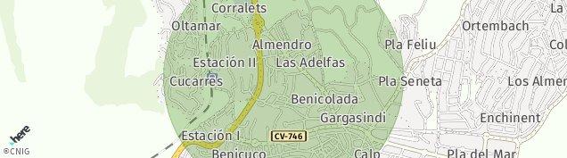Mapa Calp