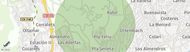 Mapa Partida Los Pinos