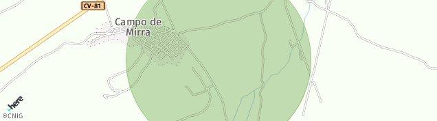 Mapa El Camp de Mirra