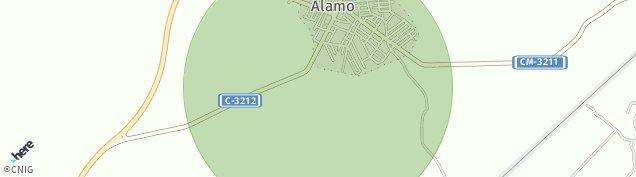 Mapa Fuente-Álamo de Albacete