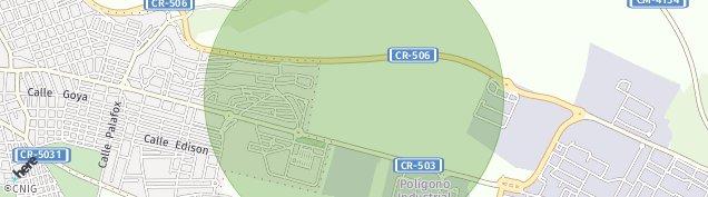 Mapa Puertollano