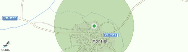 Mapa Montiel